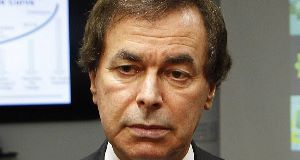 Alan Shatter: Explained to gardaí he was asthmatic.