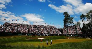 OPEN DAY: Merion Golf Club location forced the USGA to limit ticket sales. Picture: Scott Halleran