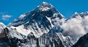 The peak of Everest. Picture: Getty Images