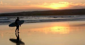 Lahinch Beach in Co Clare  has lost its coveted Blue Flag status despite its excellent water quality. Picture: Dan Linehan