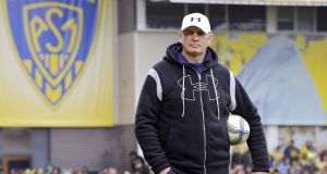 CHINK IN THE ARMOUR? Clermont coach Vern Cotter may be worried about the uncertainty over the fitness of out-half Brock James. Picture: Thierry Zoccolan/AFP/Getty Images 
