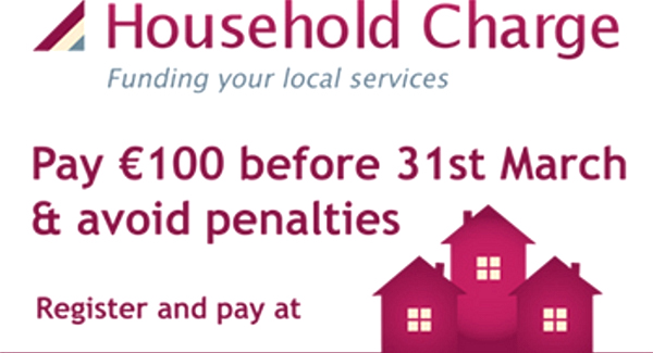The 100 household charge was introduced as a precursor to the property tax because of the time required to establish the latter
