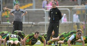 Donegal manager Jim McGuinness - keeps faith with winning 15