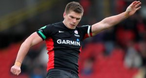 Owen Farrell: England star is tipped to make Warren Gatland&#39;s Lions squad this summer.