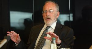 Patrick Honohan: The real challenge lies in dealing with unsustainable cases. Picture: Billy Higgins