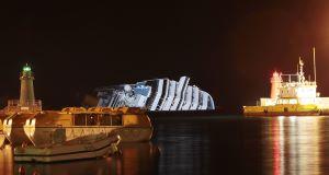 Costa Concordia Ship Sinking